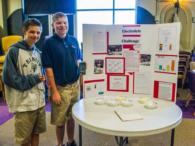 Special education students on the leading edge of science fair