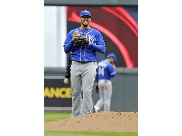 James Shields, Royals undone by defense