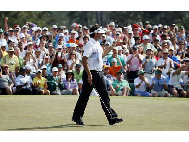 Bubba Watson wins another green jacket at Augusta