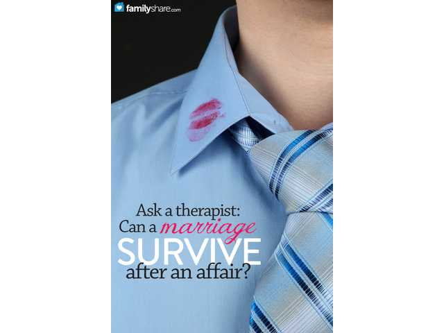 Ask a therapist: Can a marriage survive after an affair?