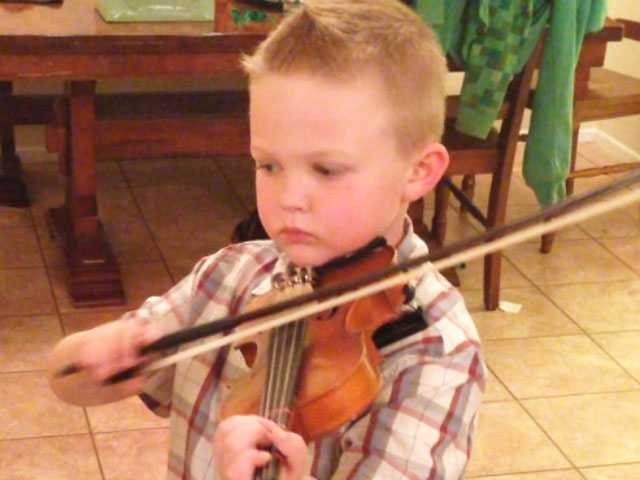 Budding Violinist