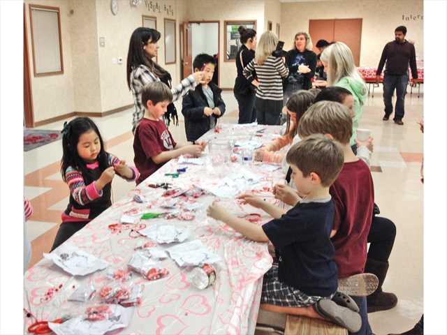 West Creek Academy lends a hand