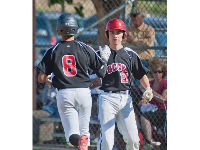 SCCS baseball beats SCV rival Trinity