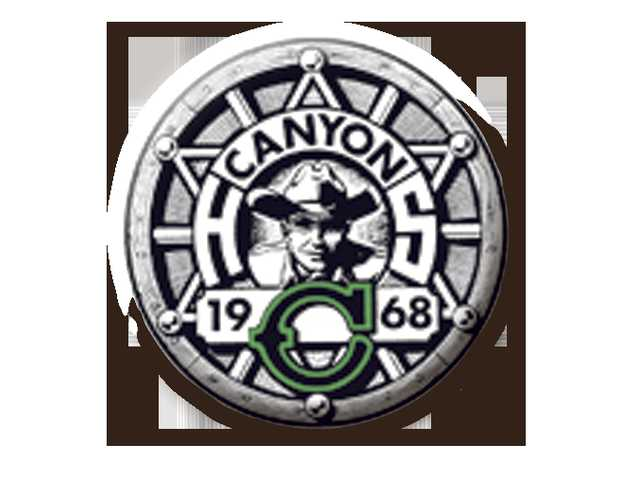 Canyon baseball sweeps Golden Valley