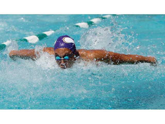 Valencia wins girls, boys swim titles
