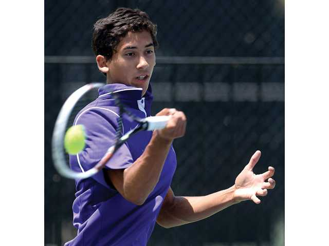 Chad LeDuff, West Ranch win at Foothill tennis finals