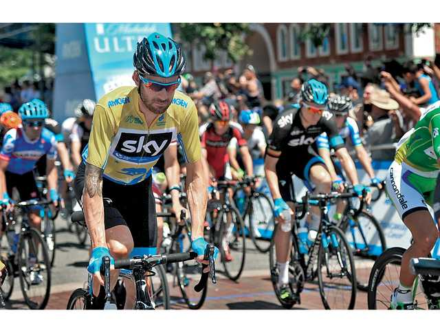 Tour of California sendoff draws crowd to Newhall