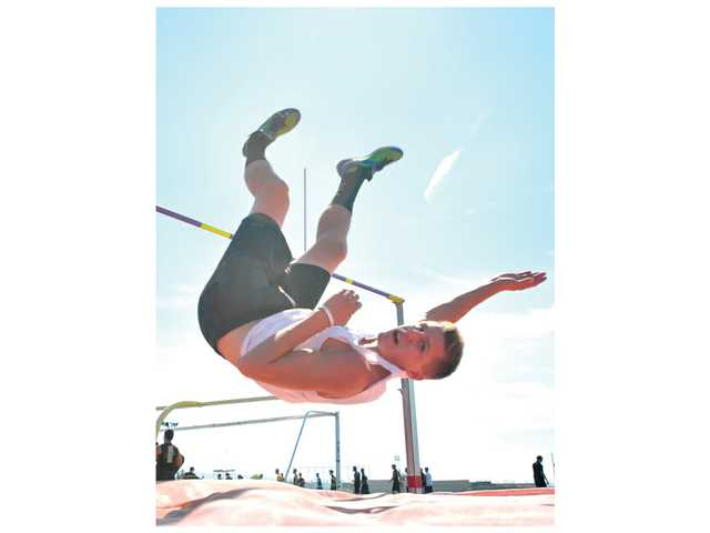 Canyon's Molster leaping for his best