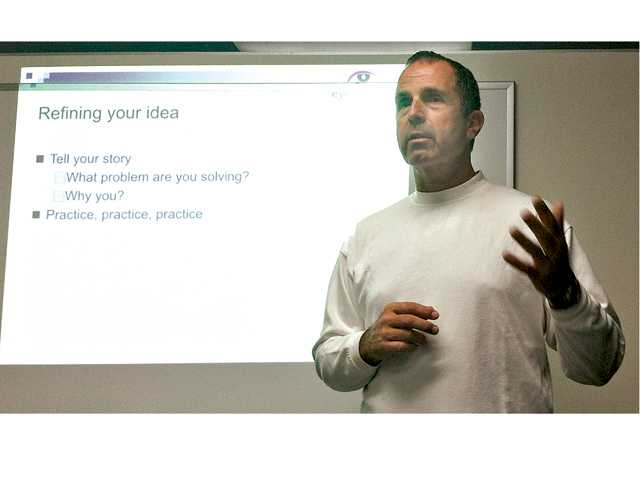 SCV entrepreneurs learn tips from 'ole' pro