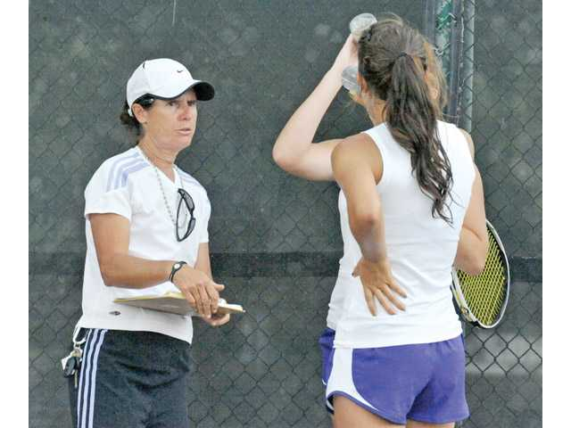 Annie Kellogg leaving Valencia boys tennis, staying with girls