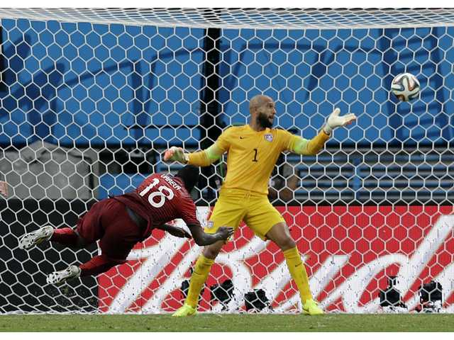 US draws with Portugal after last-second goal