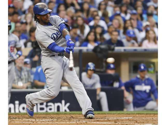 Beckett tosses gem in Dodgers' win over Padres