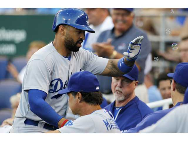 Dodgers beat Royals with James Shields on mound