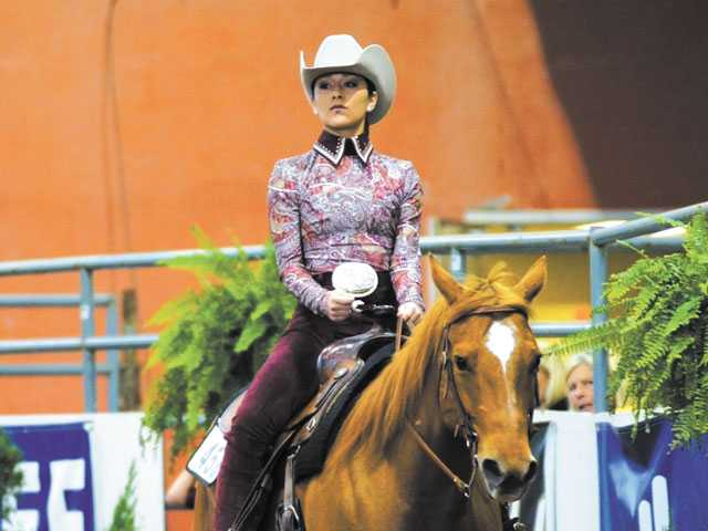 Local takes ribbon in national horse show