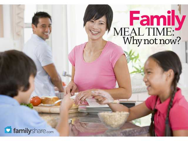 How to make family meal time count
