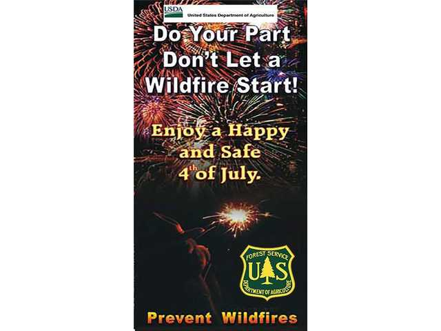 Forest officials: Consequences for use, possession of fireworks