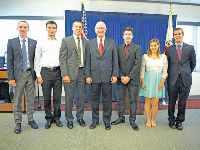 McKeon honors students headed  to military academies
