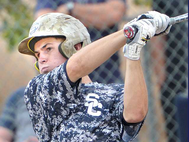 Saugus baseball downs Canyon in VIBL quarterfinals
