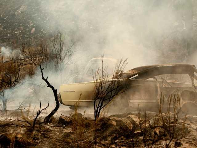 Helpful weather coming to Washington wildfires