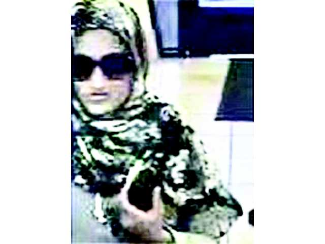'Bombshell Bandit' suspected in third bank robbery