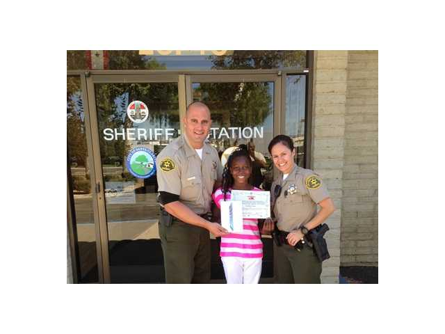 2 SCV youngsters win Youth Foundation-Sheriff's Department essay contest
