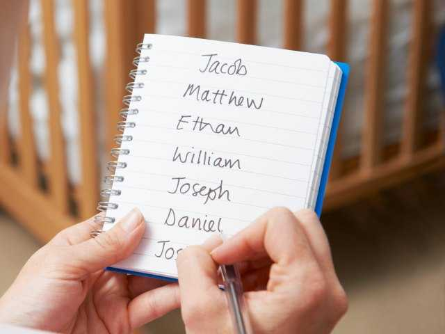 9 tips for picking a baby name