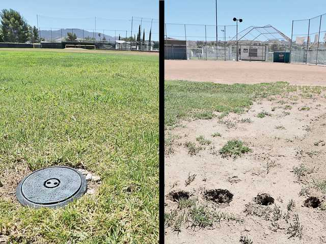 Canyon High field draws complaint