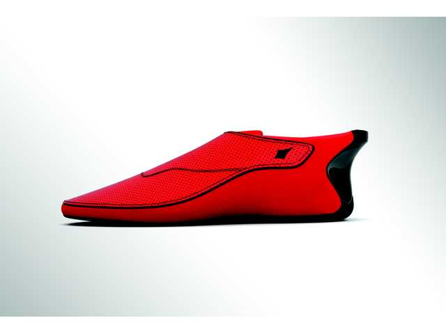Shoes give directions with vibrating soles