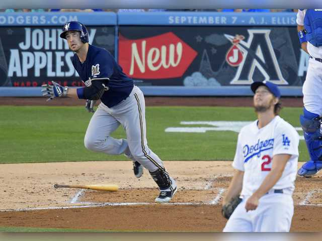 Kershaw gives up 2 homers in loss