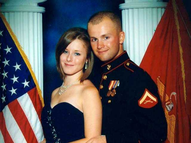 Body of Marine's missing wife found in mine shaft