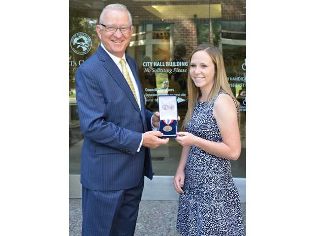 McKeon awards local student with Congressional Award Bronze Medal