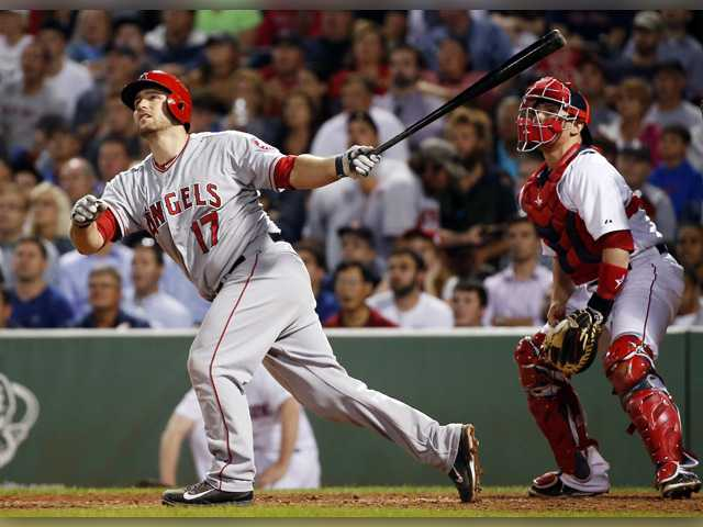 Iannetta's 9th inning double lifts Angels