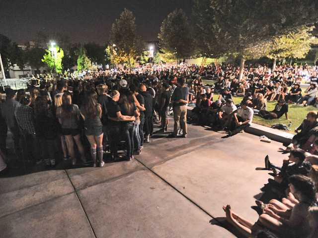Vigil held for Saugus girl killed by car