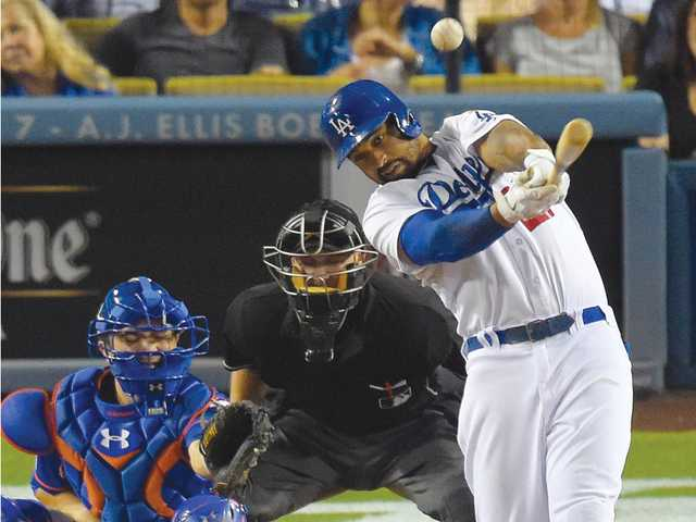 Haren leads Dodgers over error-prone Mets