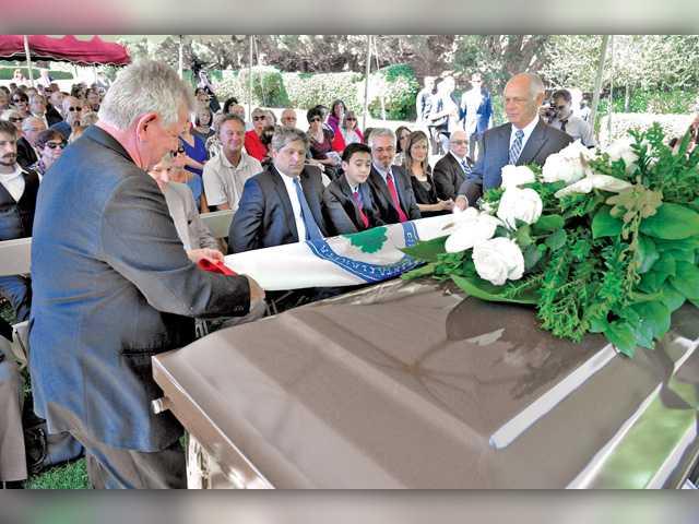 Memorial held for city activist