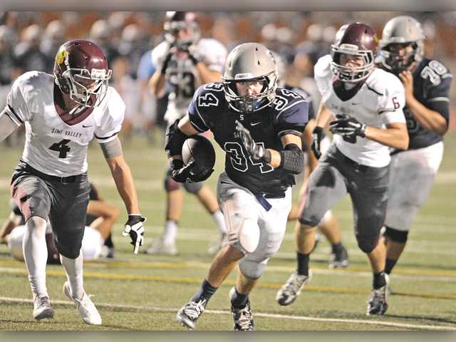 Centurions slip up late to Simi Valley