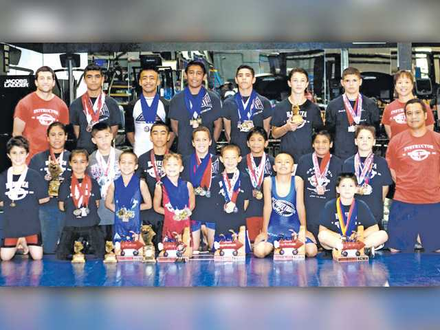 Youth wrestling team earns  185 medals