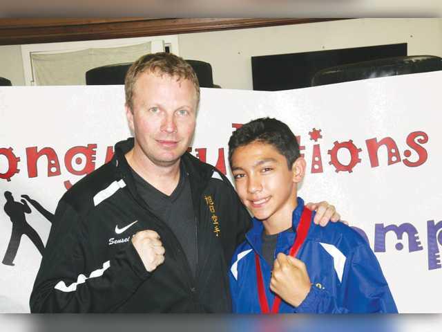 Stevenson Ranch teen returns a karate champ