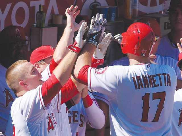 Angels trounce A's to complete 4-game sweep