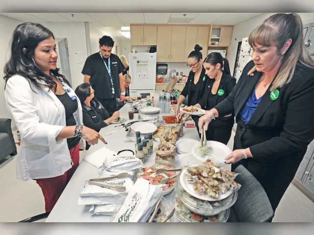 SCV hospital thanked with Labor Day lunch
