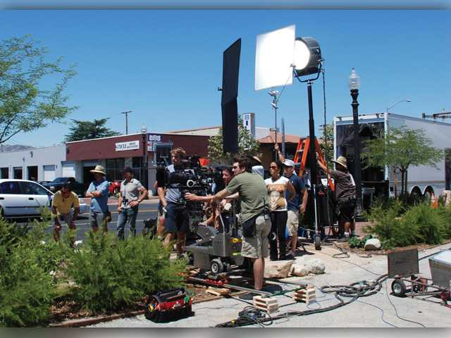 Filming Helps Support Redevelopment Area