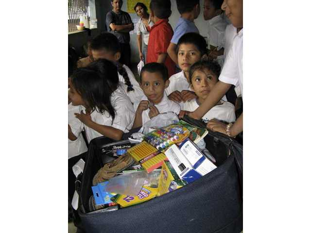 Hart district students donate supplies to Nicaraguan schools