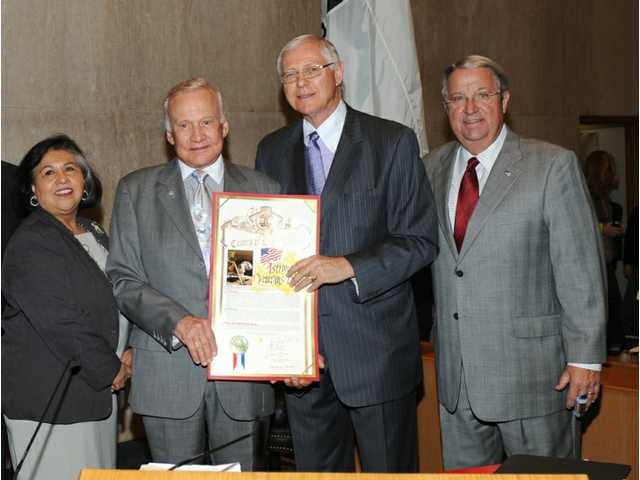 Antonovich joins Buzz Aldrin in proclaiming today as 'Astronaut Veterans Day'
