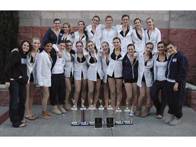 Saugus Dance Team wins 16 awards at Miss Dance Drill Team California