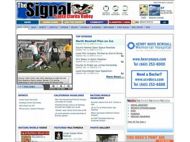 Signal Launches New Web Site