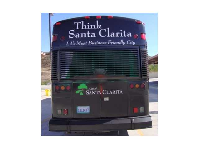City unwraps new 'Think Santa Clarita' bus