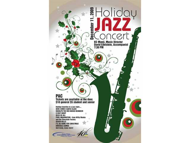 COC's annual 'Holiday Jazz Concert' swings PAC tonight