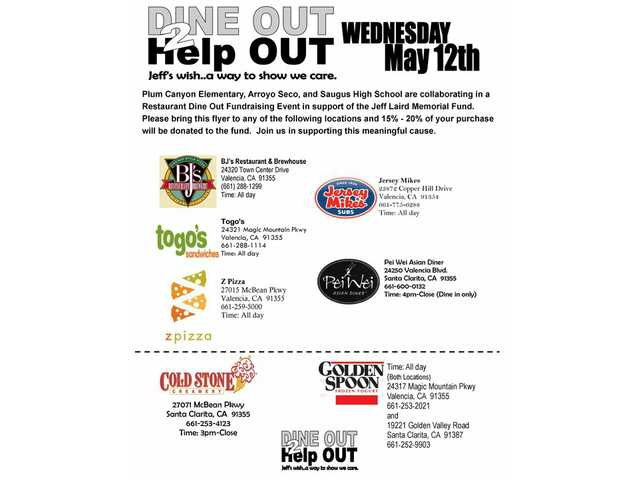 Schools hold restaurant fundraisers for Lairds Wednesday