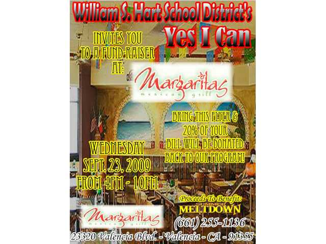 Yes I Can fundraiser Sept. 23 at Margaritas