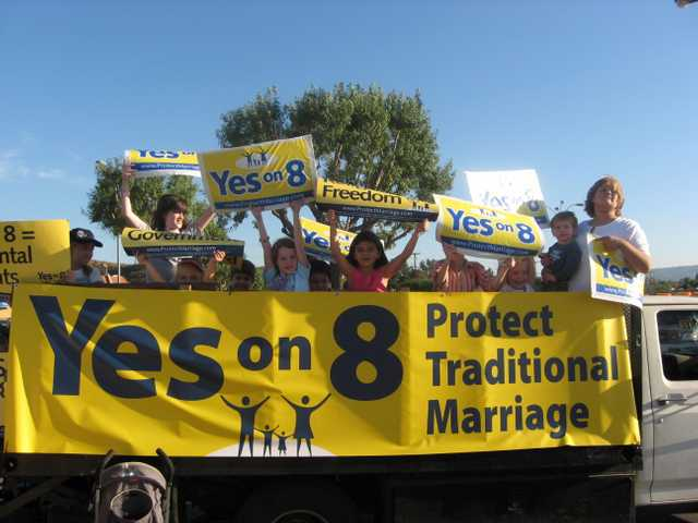 Prop. 8 and the school debate